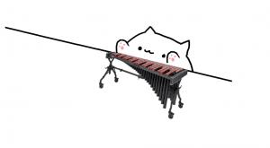 bongo cat marimba
