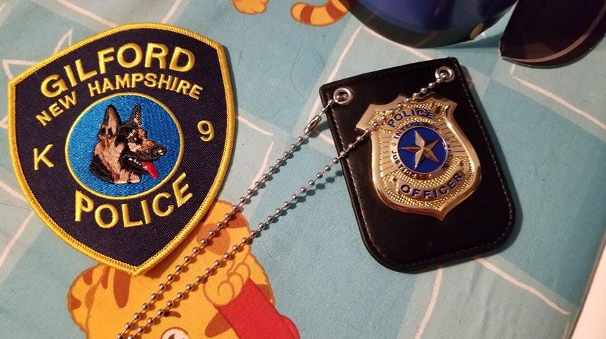 gilford pd badge