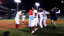 red sox celebrating