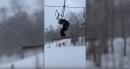 ski chair broken